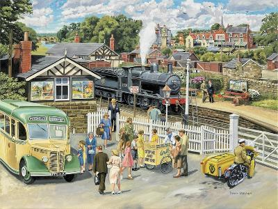 At the Station-Trevor Mitchell-Giclee Print