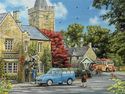 At the Vicarage-Trevor Mitchell-Giclee Print
