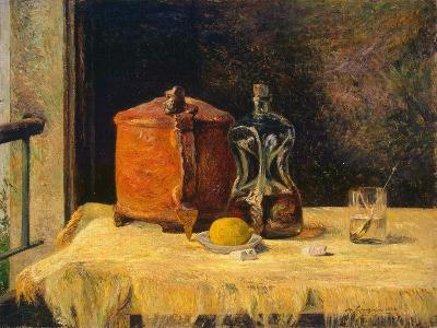 At the Window, 1882-Paul Gauguin-Giclee Print