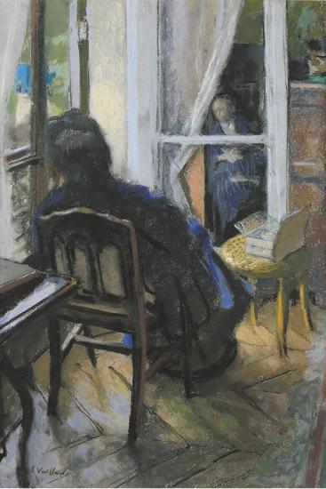 At the Window-Edouard Vuillard-Giclee Print
