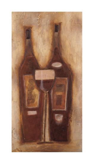 At the Wine Bar II-Sydney Clarke-Giclee Print