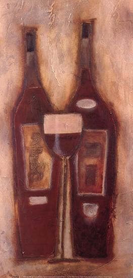 At the Wine Bar II-Sydney Clarke-Art Print
