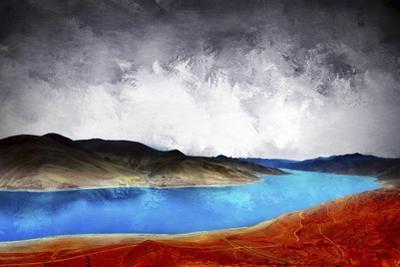 Blue River by Ata Alishahi