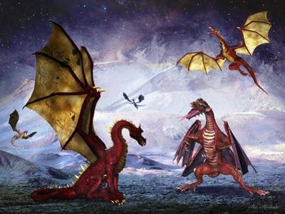 Dragon Land by Ata Alishahi