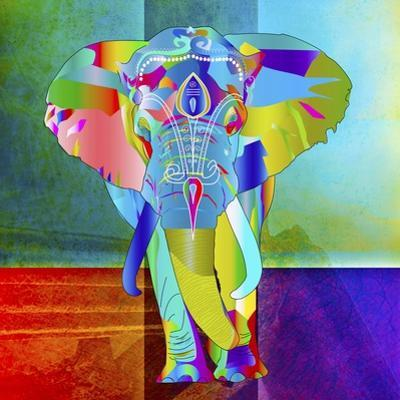 Elephant Color by Ata Alishahi