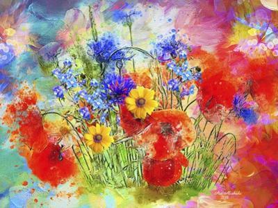 Garden Of Flowers M7 by Ata Alishahi