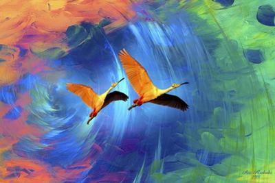 Journey Of Birds by Ata Alishahi