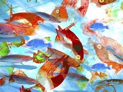 Red Fish by Ata Alishahi