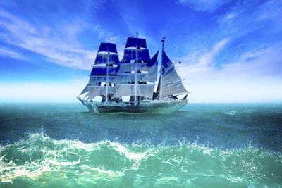 Ship  Journey by Ata Alishahi