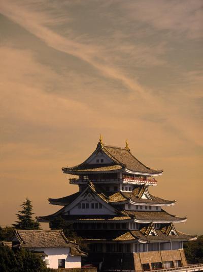 Atami-Jo Castle, Shizuoka, Japan-Walter Bibikow-Photographic Print