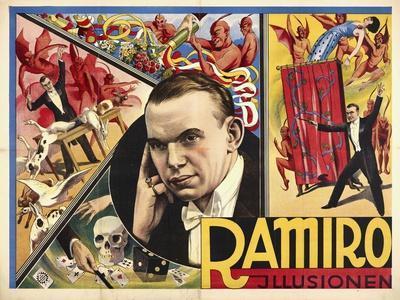 Ramiro - Illusionen. Germany, 1931-32. (Adolph Friedländer, Hamburg)