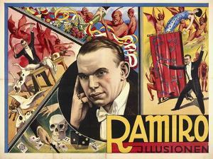 Ramiro - Illusionen. Germany, 1931-32. (Adolph Friedländer, Hamburg) by Atelier Adolph Friedländer