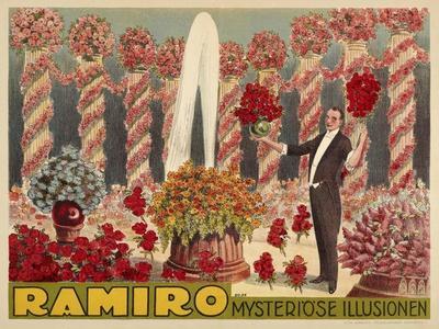 Ramiro - Mysteriöse - Illusion. Germany, 1926 (Adolph Friedländer, Hamburg)