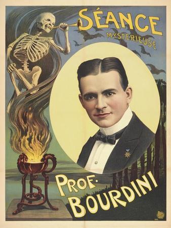 Séance - mysterieuse - Prof. Bourdini. Germany, 1911-12 (Adolph Friedländer, Hamburg)
