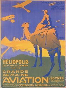 Grand Semaine Or Big Aviation Weekend At Heliopolis, Egypt by Atelier Herald