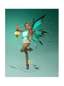 The Turquoise Pixie by Atelier Sommerland