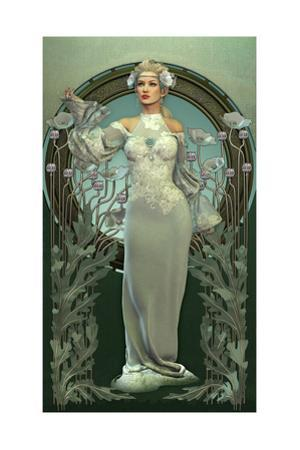 Victorian Beauty In White by Atelier Sommerland