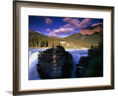 Athabasca Falls, Jasper National Park, Alberta, Canada-Lawrence Worcester-Framed Photographic Print