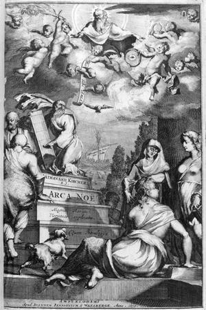 Frontispiece of Arca Noe, 1675