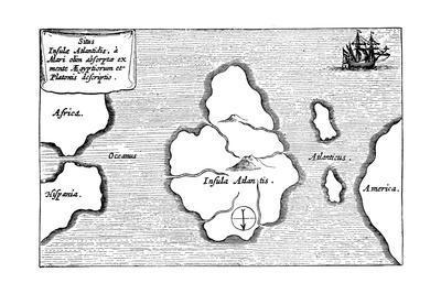 Legendary Island of Atlantis