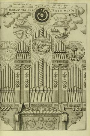 The Harmony of the Birth of the World (Harmonia Nascentis Mund) from Musurgia Universalis