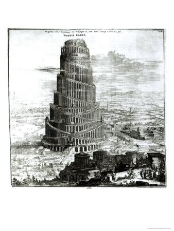 The Tower of Babel, 1679
