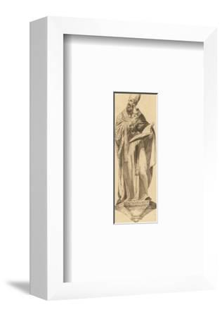 Athanasius with Book-William Hamilton-Framed Giclee Print