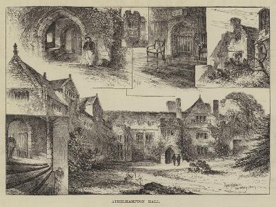 Athelhampton Hall-Herbert Railton-Giclee Print