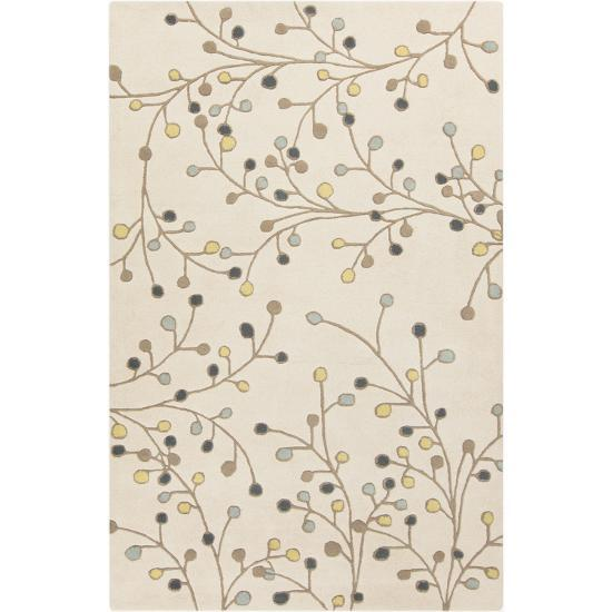 Athena Area Rug - Taupe/Navy 5' x 8'--Home Accessories