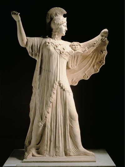 Athena Promachos (Athena), 1st Century, Marble, Full Relief--Photographic Print
