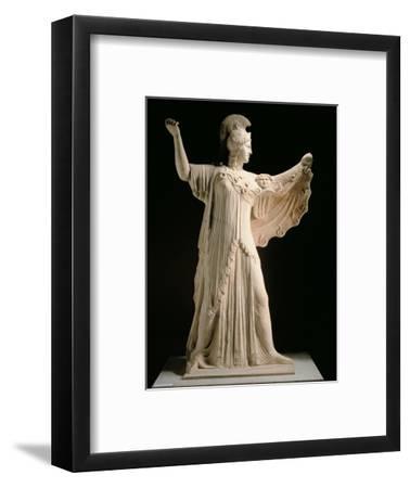 Athena Promachos (Athena), 1st Century, Marble, Full Relief