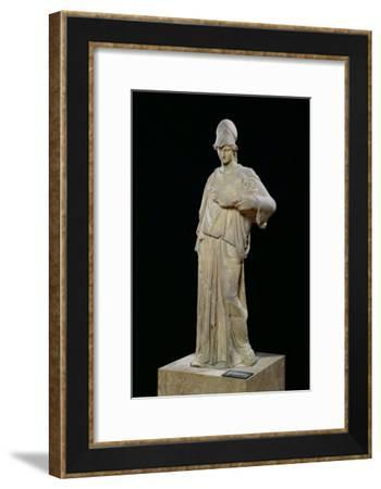 Athena with a Cist, Roman Copy of a 4th Century BC Original- Cephisodotus-Framed Giclee Print