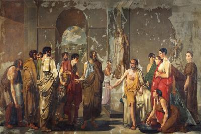 Athenian Phocion Refusing Alexander's Gifts-Nicola De Laurentiis-Giclee Print