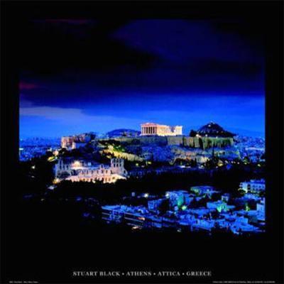 Athens - Attica - Greece-Stuart Black-Art Print