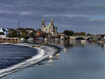 Athlone in County Westmeath, Ireland-Chris Hill-Photographic Print
