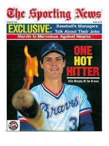 Atlanta Braves OF Dale Murphy - April 29, 1985