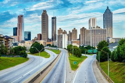 Atlanta Downtown Skyline-Rob Hainer-Photographic Print