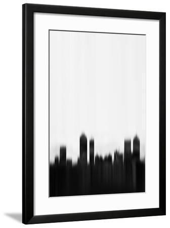 Atlanta Downtown-NaxArt-Framed Art Print