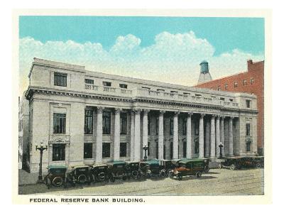 Atlanta, Georgia - Federal Reserve Bank Building Exterior-Lantern Press-Art Print