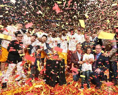 Atlanta Hawks v Cleveland Cavaliers- Game Four-Nathaniel S Butler-Photo