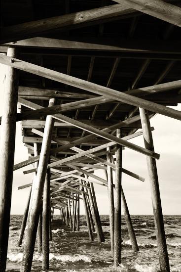 Atlantic Beach Pier 2-Alan Hausenflock-Photographic Print