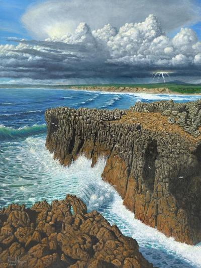 Atlantic Breakers Pontal Portugal-Richard Harpum-Art Print