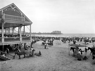 Atlantic City: Beach, c1900--Giclee Print