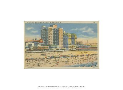 Atlantic City, NJ- V--Art Print