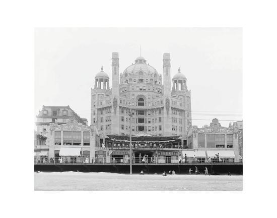 Atlantic City's Marlborough-Blenheim Hotel, ca. 1908-Vintage Photography-Art Print