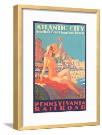 Atlantic City Travel Poster