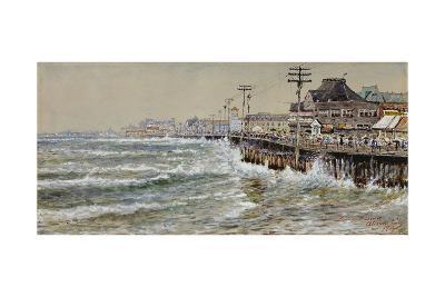 Atlantic City-Edmund Darch Lewis-Giclee Print