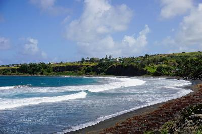 Atlantic Coast, St. Kitts, St. Kitts and Nevis-Robert Harding-Photographic Print