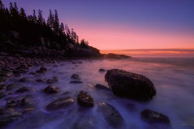Atlantic Coast Sunrise, Maine, Acadia National Park-Vincent James-Photographic Print