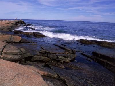 Atlantic Ocean, Halibut Point State Park, MA-Jim Schwabel-Photographic Print